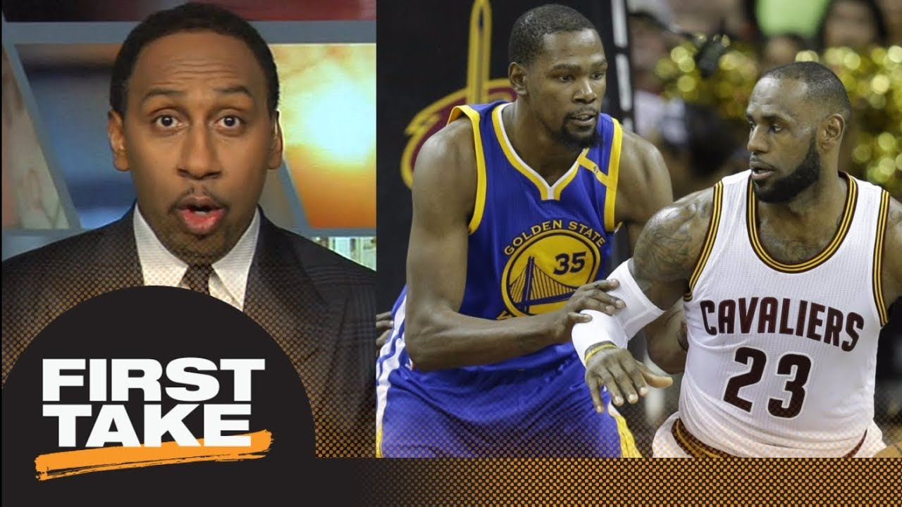 Stephen A. Smith hyped for LeBron James-Kevin Durant Christmas Day ...