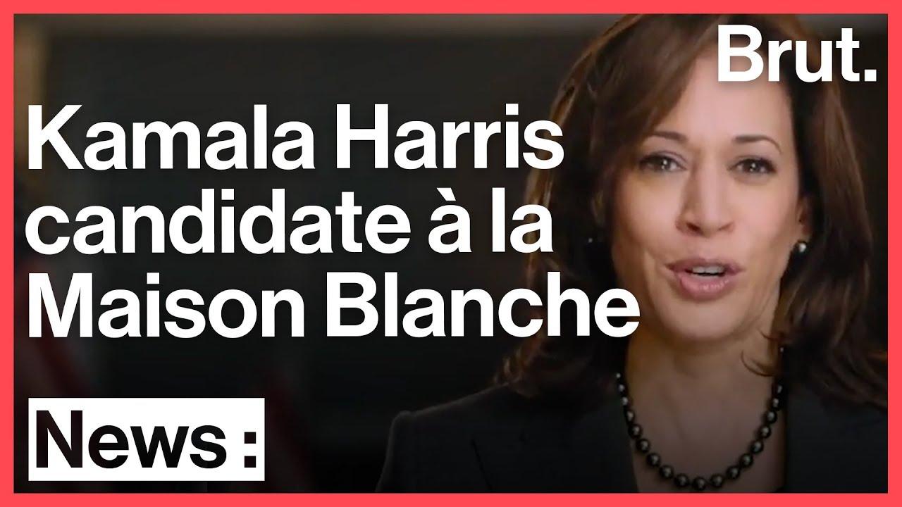 Kamala Harris candidate à la présidentielle américaine de 2020