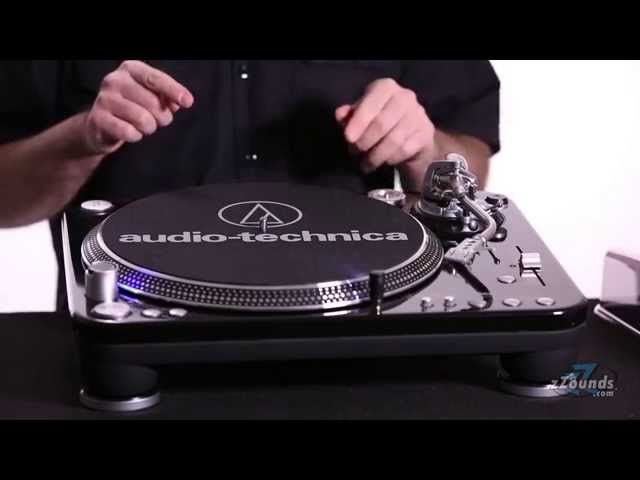 zZounds.com: Audio-Technica AT-LP1240 USB Direct Drive DJ Turntable