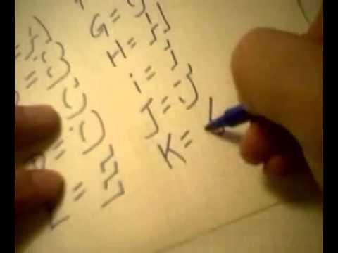 Cách viết chữ nổi