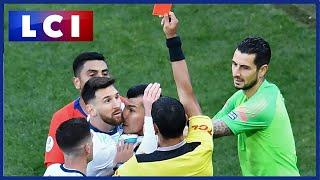 Polémique à la Copa America : Lionel Messi méritait-il ce carton rouge ?