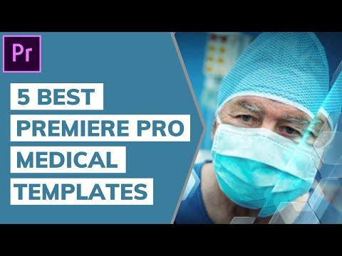 5 Best Premiere Pro Medical Templates