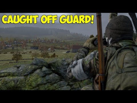 CAUGHT OFF GUARD! DayZ Standalone 0.62