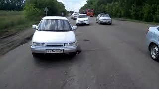Место нереальной концентрации ДТП!!! Город Нижнекамск
