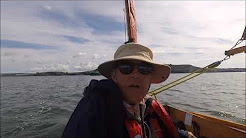 Dinghy cruising on a Welsford navigator: taking advantage of the weather window