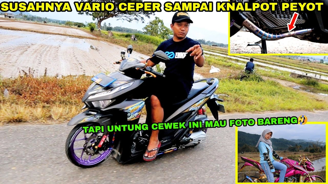VARIO MODIFIKASI BABYLOOK SUPER CEPER TEST RIDE | AUTO AMBYAR !!