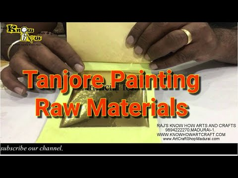 Tanjore Painting Raw Material
