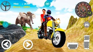 Bike Racing Games - Hill Climb Bike Taxi Driver - Gameplay Android free games