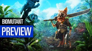 Biomutant PREVIEW    Vorschau zum abgedrehten Action-Rollenspiel   Gamescom 2018
