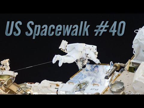 Preview of U.S. Spacewalk #40