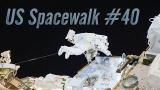 Preview of U.S. Spacewalk #40