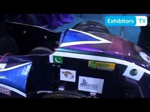 NED University of Engineering & Technology at Pakistan Auto Show 2013 (Exhibitors TV Network)