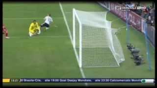 Gol non visto Germania Inghilterra world cup 2010
