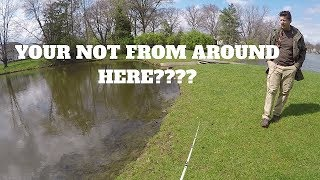 Guy Tries To Kick Me Out For Fishing In My Own Pond?!?!?