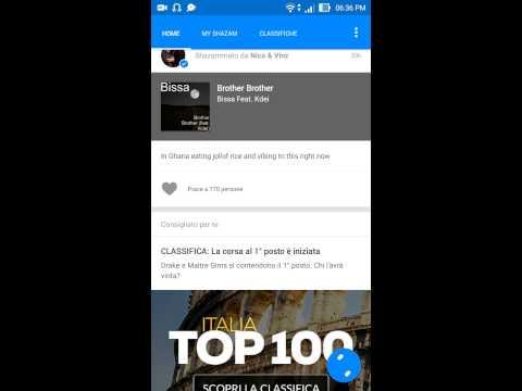 app per riconoscere la musica