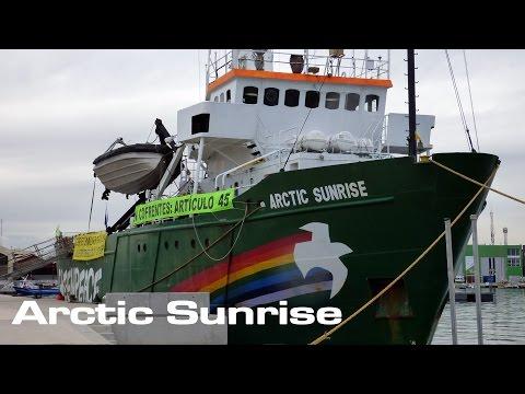 Inside the Arctic Sunrise!