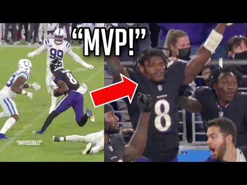 Lamar Jackson 'IMPOSSIBLE' Comeback Highlights vs Colts