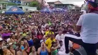 Mr. Saik canta LA CHAMA dedicada a las venezolana