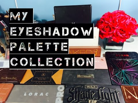 My Makeup Collection: Eyeshadow Palettes