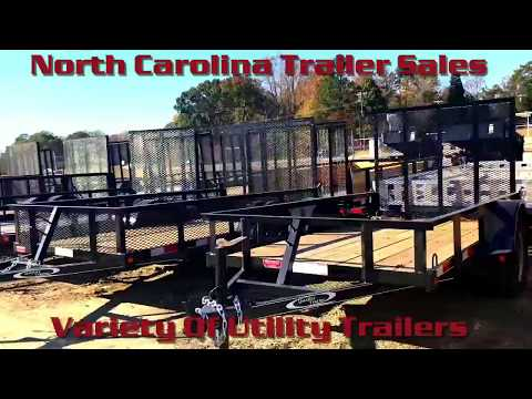 NC Trailer Sales - Utility Trailers For Sale
