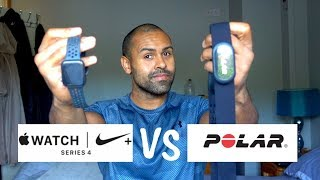 Apple watch 4 VS Polar H10 Heart Rate Chest Strap