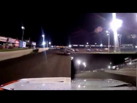 IMCA Stock Cars Feature Onboard 3G Boone Speedway 7-23-16