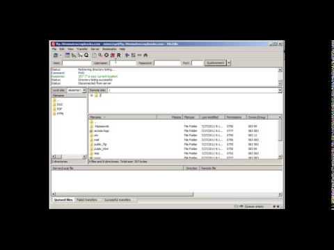 Jason Smith's Training - FTP Filezilla Account Connection