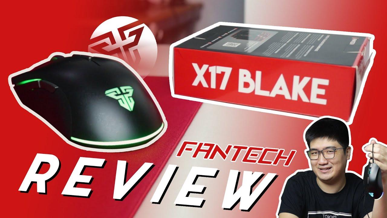 Fantech X17 Blake Review! Mouse Budget dari Fantech!