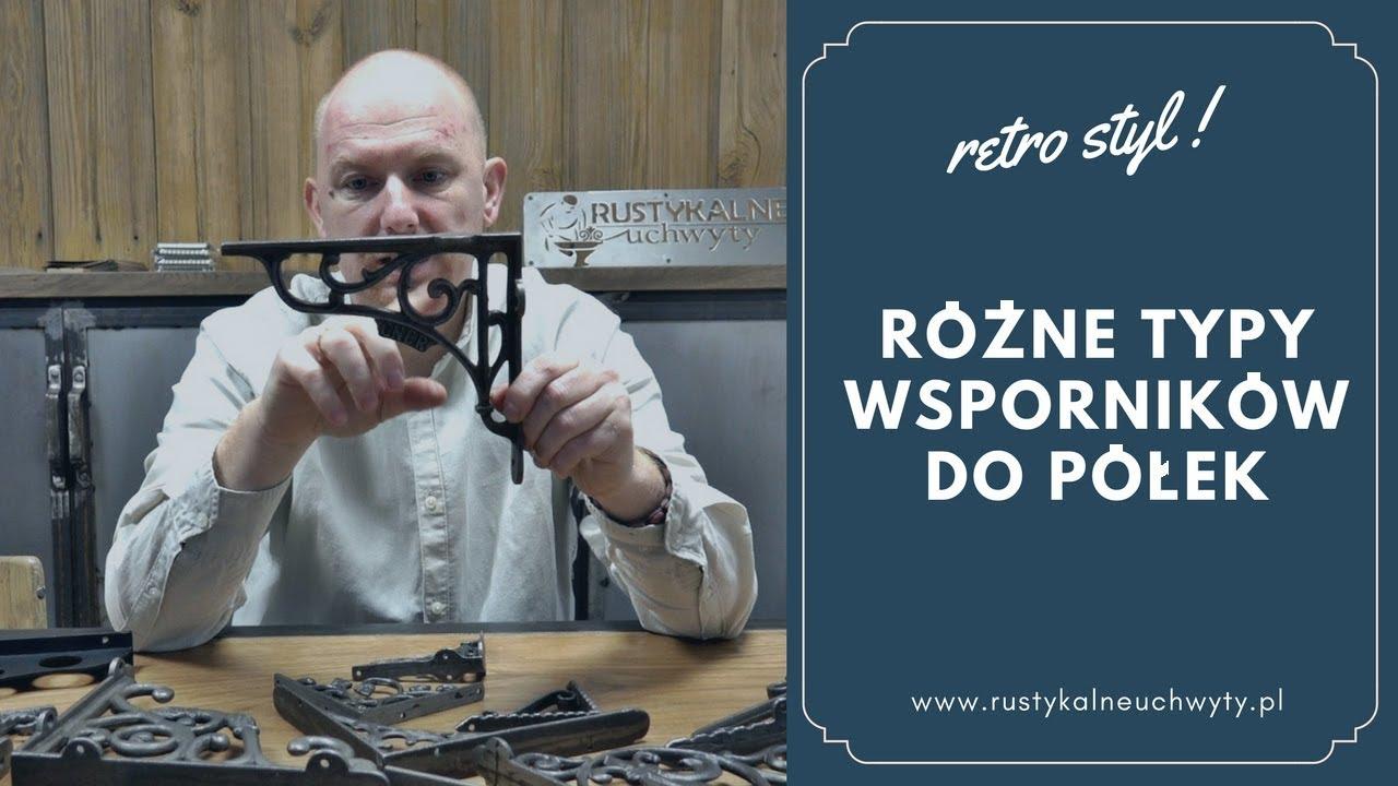 Podpórki Wsporniki Do Półek Rustykalneuchwytypl