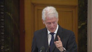 Full speech: Bill Clinton's eulogy for Martin McGuinness