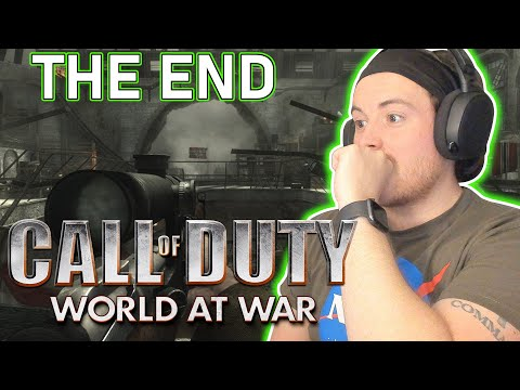 Royal Marine Plays The End Of World At War For The First Time! - Call of Duty