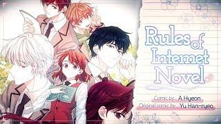 WebToon 『Law of Internet Novel』 trailer ENG ver. Resimi