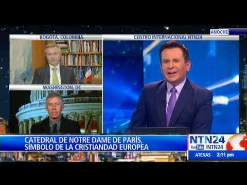 Incendio en Catedral de Notre Dame impacta a París y al mundo entero