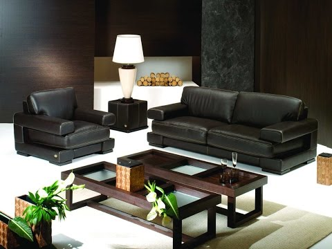 Interior Design Ideas With Black Leather Sofas