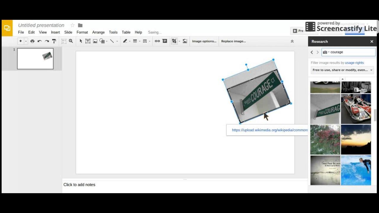 Google themes upload - Making Your Theme Collage On Google Slides