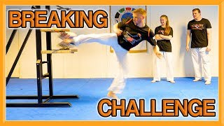 Martial Arts Breaking Challenge | WHO IS THE STRONGEST? | Team GNT