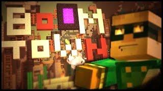 Minecraft Modo História - BOOM TOWN! (Gameplay em Português PT-BR)