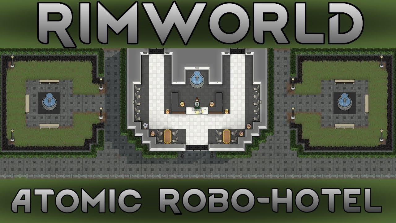[53] Neutroamine & Resource Plants | RimWorld 1 0 Atomic Robo-Hotel