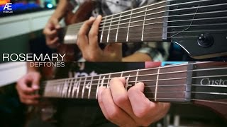 Deftones - Rosemary (Guitar Cover)