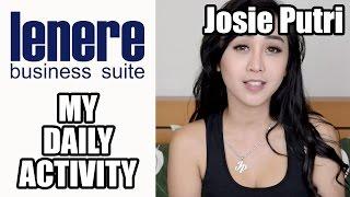 """""""My Daily Activity"""" - Josie Putri"""