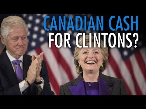 Trudeau to give Clinton Foundation $241M from taxpayers