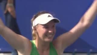 2016 Toray Pan Pacific Open Final Match Point | Caroline Wozniacki vs Naomi Osaka | WTA Highlights