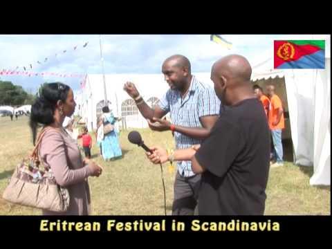 Eritrean Festival in Scandinavia with Mehari Afwerki