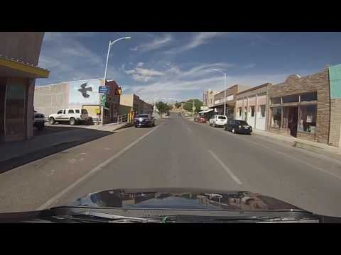 Truth or Consequences, New Mexico - Drive Through Downtown HD (2016)