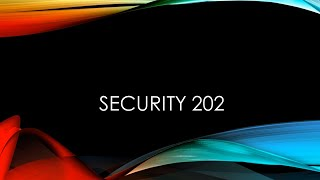 Cyber Protection for Business 202 - Cyber Security, infosec