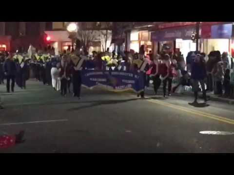 Cambridge South Dorchester High School Band - Cambridge Christmas Parade 2016