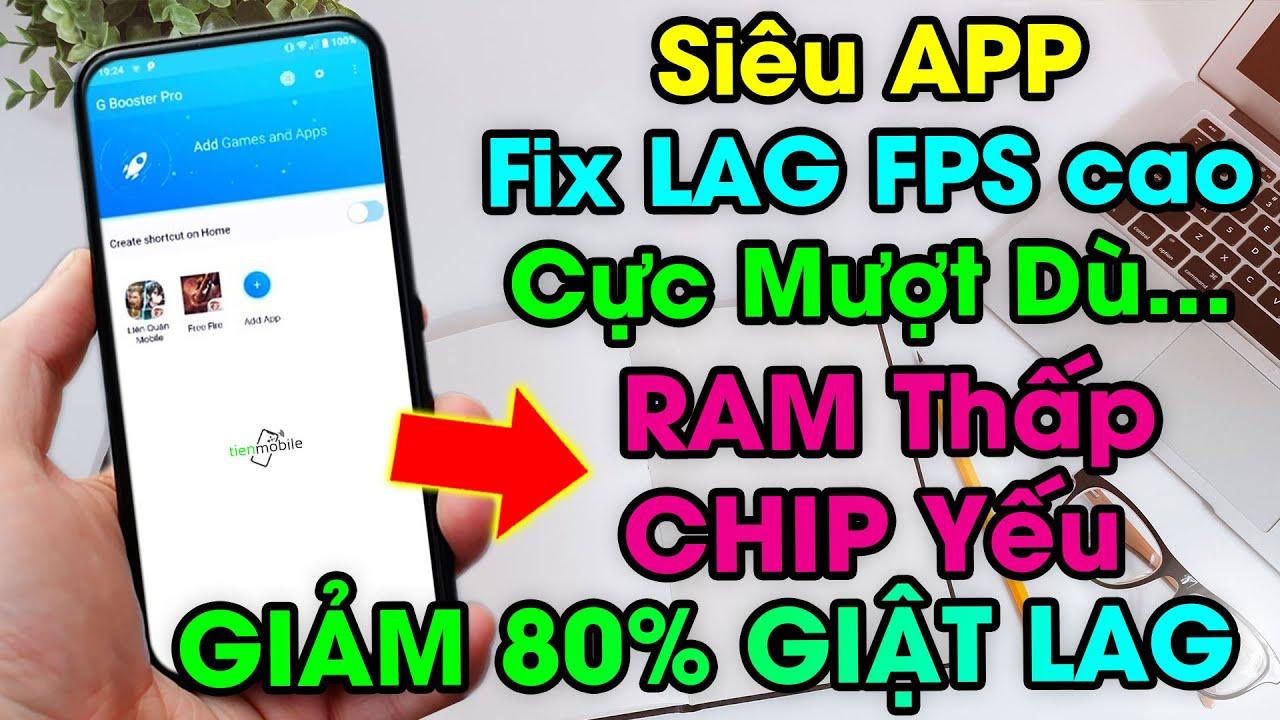Cách Tối ưu điện thoại Android Chip Yếu Ram Thấp chơi game cực mượt bật FPS cao giảm 80% giật lag