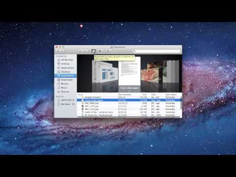 Mac Finder Overview