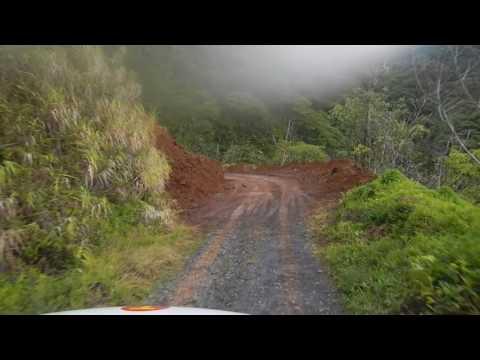 Tahiti 2012 - Traversée de l'ile - retour Faaa part 1