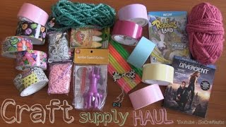 Craft Supply Haul : PASTEL DUCT TAPE & More! - SoCraftastic Thumbnail